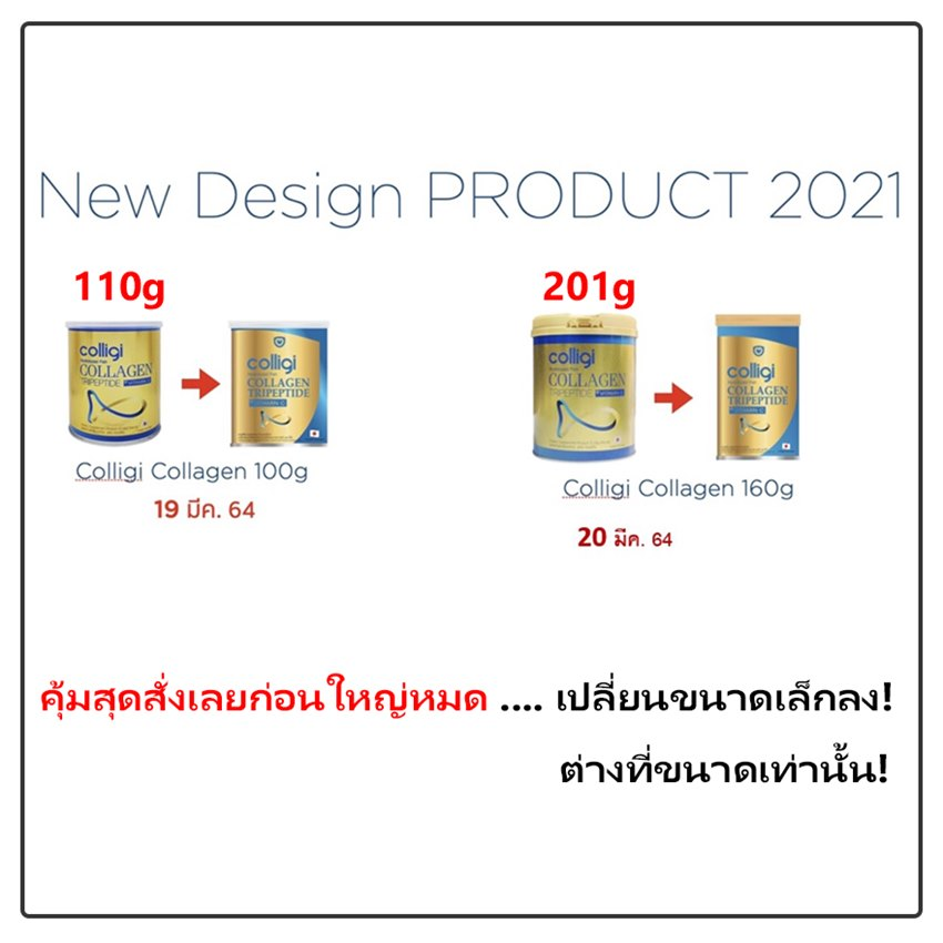 rebranding colligi collagen 2021